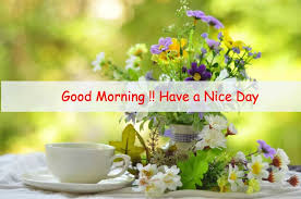 good morning flower image free