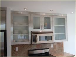 kitchen amazing gl frosted cabinet door