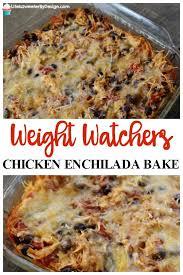 weight watchers en enchilada bake