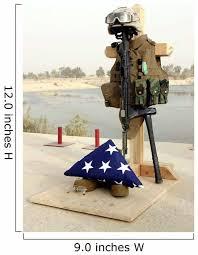 Fallen Soldiers Gear Display Wall Decal Wallmonkeys Com
