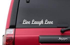 Live Laugh Love Vinyl Decal Sticker Love Family Tablet Iphone Truck Car Unbrandedgeneric Vinyl Decal Stickers Live Laugh Love Vinyl Decals