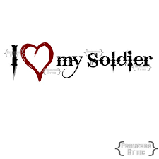 I Love My Soldier Military Car Decal Vinyl Wall Art Decal Etsy