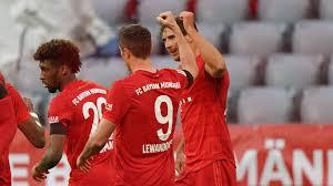 Отчет по матчу: Бавария - Айнтрахт Франкфурт