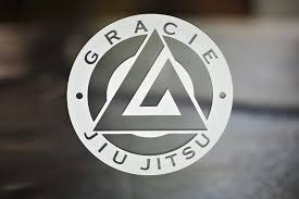 Amazon Com Gracie Jiu Jitsu Die Cut Vinyl Decal For Car Window Gear Laptop Or Wherever Comes In Different Sizes And Colors Select From The Option Menu Handmade