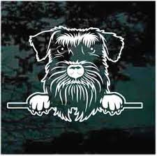 Schnauzer Car Decals Stickers Decal Junky
