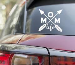 Mom Life Arrows Arrow Car Decal Vinyl Sticker Etsy