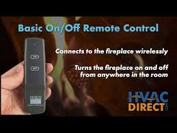 gas fireplace switches and remotes