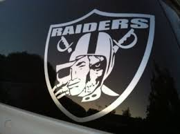 Oakland Raiders Vinyl Decal Raider Nation Skull Sticker 113559694