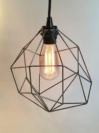 geometric lighting pendant light plug