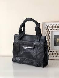 kooba leather shoulder bag leather bag