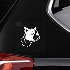 Amazon Com Dkisee Xcm Car Sticker Decal Dog Animal Pets Window Cartoon Great Decor Car Decal 6 Inch Vinyl Decal For Car Bumper Truck Window Walls Laptop Sticker Kitchen Dining