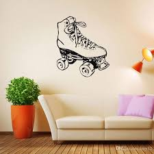 New Vinyl Sticker Sport Figure Skating Club Dancing Skater Wall Decal Ice Skating School Children Room Decor Mural Wall Stickers Kids Wall Stickers Large From Kity12 4 03 Dhgate Com
