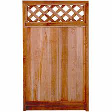 Fence Gate With Lattice Top 17005861 Rona