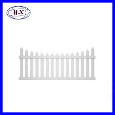 China Collections Etc Flexible White Picket Fence Border For Garden Landscape Edging White China Frp Products Building Decoration