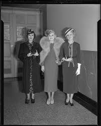 Model Priscilla Lawson and two other women, Times fashion show, Los  Angeles, 1936 — Calisphere