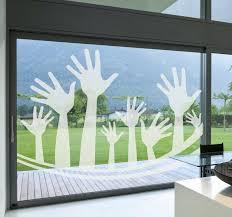 Hand Raising Decorative Sticker Tenstickers