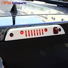 Abs Chrome Brake Light Lamp Cover Trim Decal Sticker For Jeep Patriot 2007 2013 2014 2015 Abs Chrome Trim Coverlight Trim Aliexpress