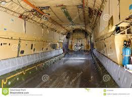 Dentro De La Bahía De Cargo De Los Aviones IL-76 Imagen de archivo ...