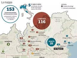 Paziente | La mappa del Coronavirus, in Italia contagi raddoppiati ...