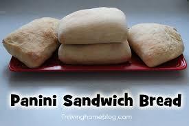 panini sandwich bread a bread machine