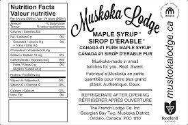 canada maple syrup label gallery