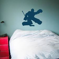 Hockey Goalie Wall Decals