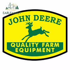 Earlfamily 13cm X 10 3cm For John Deere Funny Car Stickers Anime Decal Personality Graphics Waterproof Scratch Proof Decor Car Stickers Aliexpress