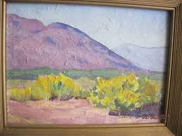 1930'S OIL PAINTING BY INDIANA/ARIZONA ARTIST LURA GERTRUDE SMITH B.1875 |  #1727222279