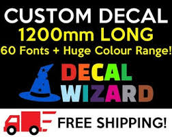 Signs 1100mm Long Vinyl Boat Names Decals Stickers Archives Midweek Com