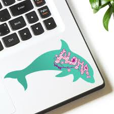 Dolphin Decal Custom Window Stickers For Dolphin Fans