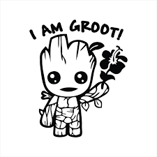 Avengers Groot I Am Groot Jeep Car Truck Decal Sticker Cut Etsy