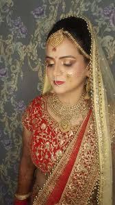 bridal makeup done by tanya puri
