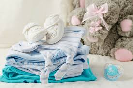 wash new baby clothes