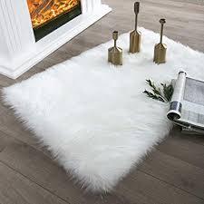 faux fur rug white fluffy rug