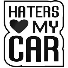 Jdm Haters Love My Car Decal Sticker