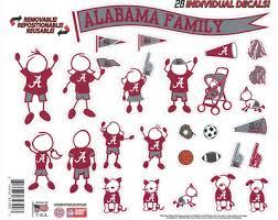 University Of Alabama Decals