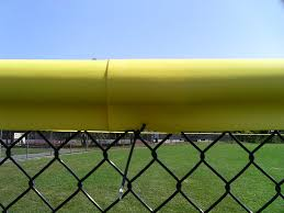 Fence Safety Top Cap Yellow Fence Top Cover Pexco