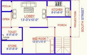 vastu 22 x 27 south direction house