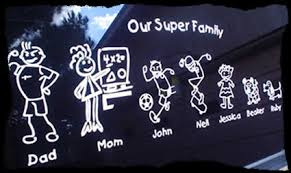 Family Stickers At Familystickerz Com The Easiest Place To Design A Family Decal To Show Your Family Pride