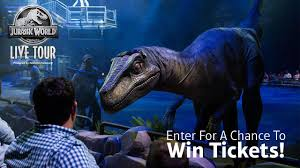 Enter to win tickets to the Jurassic World Live Tour at the Amway ...
