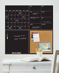Dry Erase Boards Wall Pops Wpe1875 Modern 4 Piece Organizer Kit Black Presentation And Display Products Presentation And Display Products