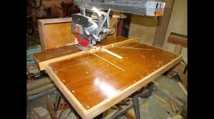 Radial Arm Saw Tables And Fences Part 1 Youtube