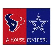 fanmats nfl cowboys giants navy house