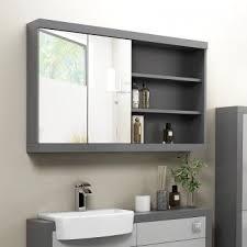 mirrored bathroom cabinets mirror