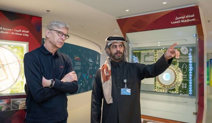 "Image result for Arsene Wenger in Doha"""