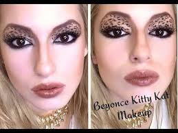 beyonce kitty kat makeup tutorial you
