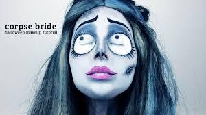 corpse bride emily halloween makeup