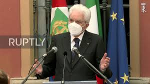 Italy: President Mattarella visits COVID-hit Codogno on national ...