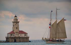 lighthouse sailboat chicago il