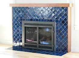 northern lights tile fireplace